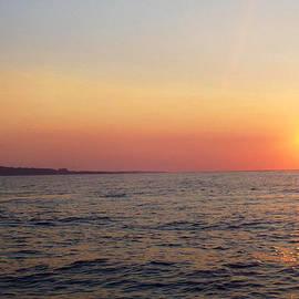 Sunset over Montauk by John Telfer