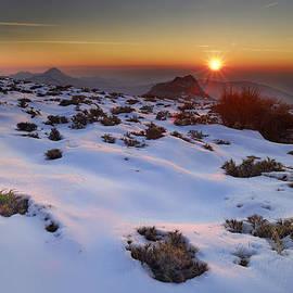 Guido Montanes Castillo - sunset over National park Sierra Nevada