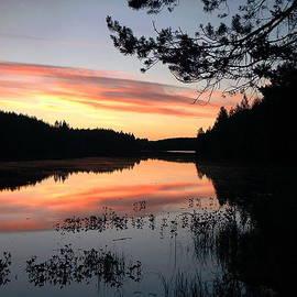 Christine Rivers - Sunset Over The Lake