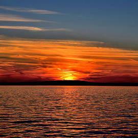 Brian Mooney - Sunset Over The Ocean