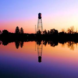Dan Sproul - Sunset Water Tower