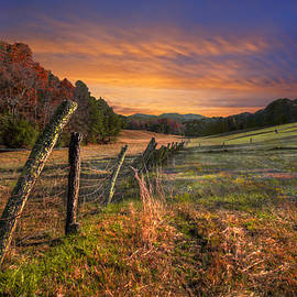Sunset Pastures by Debra and Dave Vanderlaan