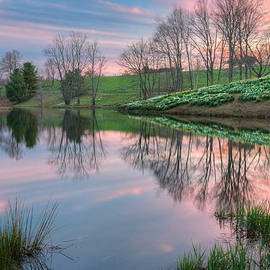 Sunset Reflections by Bill Wakeley