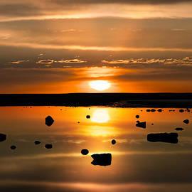 Leland D Howard - Sunset Reflections