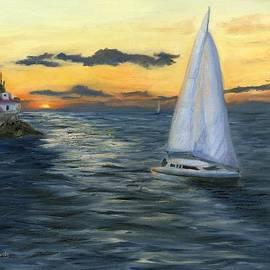 Deborah Butts - Sunset Sail