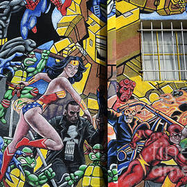 Bob Christopher - Superhero Wall Art Albuquerque