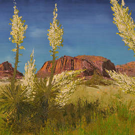 Superstition Mountain by Jack Hedges
