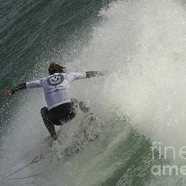 Surfer at Cold Water Classic 2 by Morgan Wright