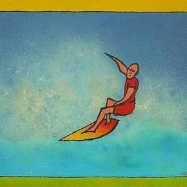 Surfer by David Keenan