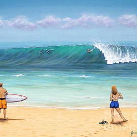 Jerome Stumphauzer - Surfing Hawaii