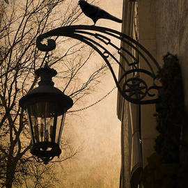 Kathy Fornal - Surreal Fantasy Gothic Lantern With Ravens