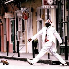 New Orleans Suspended Animation Of A Mime by Michael Hoard