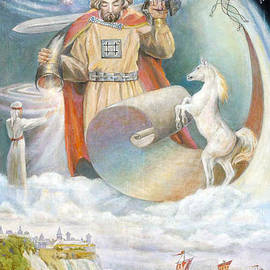 Svetovid - the Supreme God of the Slavs by Nella  Genkina