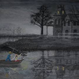 Larry E Lamb - Swamp Gothic Published Original Art