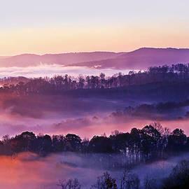 Marcia Colelli - Swan Ridge at Sunrise