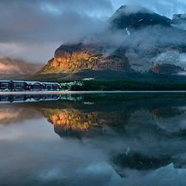 Dan Mihai - Swiftcurrent Lake Sunrise