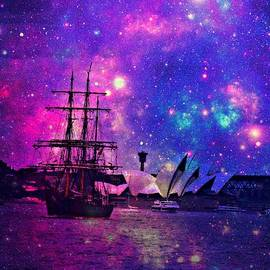 Sydney Harbour through time and space by Leanne Seymour