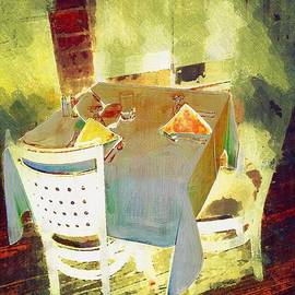 RC deWinter - Table at the Fauve Cafe