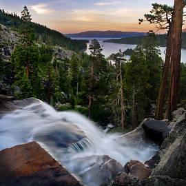 Tahoe Eagle Falls Sunrise 2 by Dave Dilli