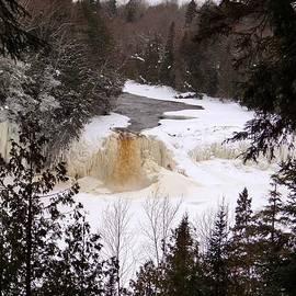 Keith Stokes - Tahquamenon Falls in Winter