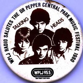 Del Gaizo - Talking Heads Central Park Music Festival New York City 1980