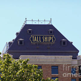Tall Ships Sign 1 by Tom Doud