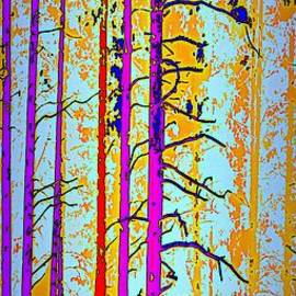 Tall Trees by Irma BACKELANT GALLERIES