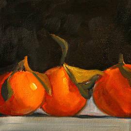 Tangerine Party by Nancy Merkle