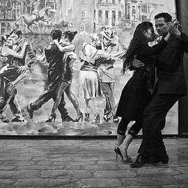 Tango Dancers in Buenos Aires by Venetia Featherstone-Witty