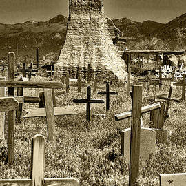 Wes and Dotty Weber - Taos Cemetery