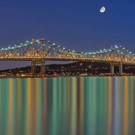Susan Candelario - Tappan Zee Bridge Reflections