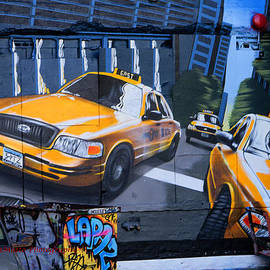 Taxi Mural by Charles A LaMatto