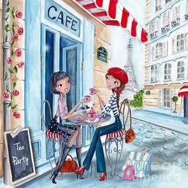 Caroline Bonne-Muller - Tea in Paris