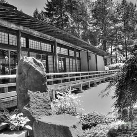 David Bearden - Tea Room at the Japanese Garden