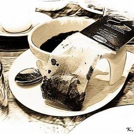 Tea Time in Paris by Kelly Schutz