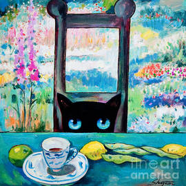 Shijun Munns - Tea Time Kitty