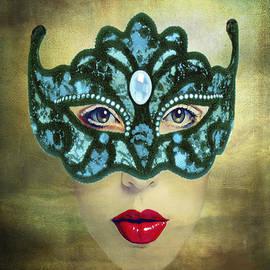 Maureen Tillman - Teal Mask