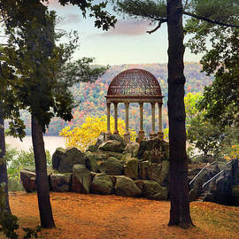 Temple of Love in Autumn by Jessica Jenney
