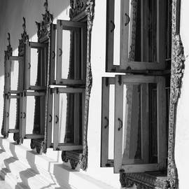 Temple windows by Alexey Stiop