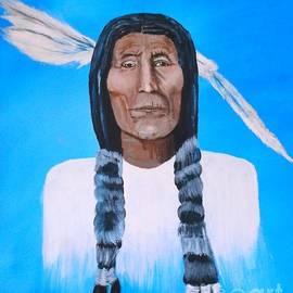 Donna Dixon - Chief Wolf Robe