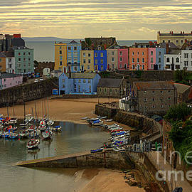 Tenby Harbour In The Morning by Jeremy Hayden