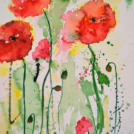 Ismeta Gruenwald - Tender Poppies - Flower