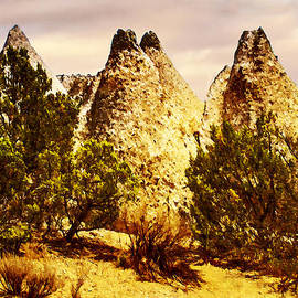 Tent Rocks National Monument by Bob and Nadine Johnston