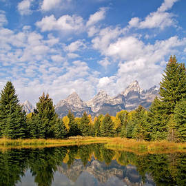 Alex Cassels - Teton Reflections