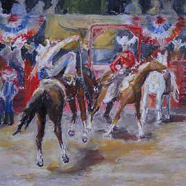 Barbara Pommerenke - Texan Rodeo