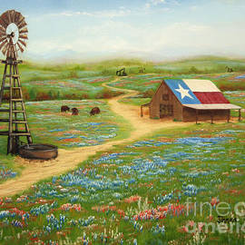 Texas Countryside by Jimmie Bartlett