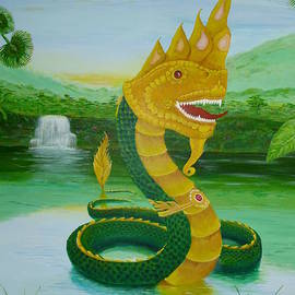Thai Naga by Peter Garrett