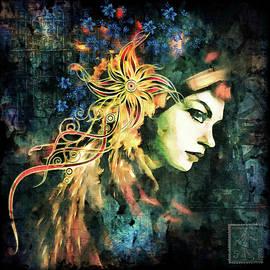 Georgiana Romanovna - The Adultress Grunge Art