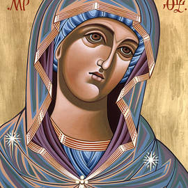 The Andronicus Icon of the Mother of God Consoler of Women 123 by William Hart McNichols