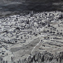 The Arab Village of Issawiya East Jerusalem by Esther Newman-Cohen